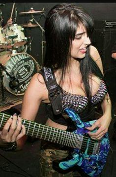 Women of Rock. The Guitar Players
