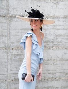 Ruffle Blouse, Stylish, Hats, Outfits, Dresses, Women, Fashion, Color Accents, Hipster Stuff