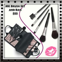 Brush Storage:  If you browse Pinterest enough, you'll be on fire to display your brushes in a jar filled with rice.  But if you're not a displayer, a roll-up bag like the Mary Kay Brush Collection Bag (brushes included) is perfect for travel and at home.