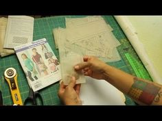 How to transfer Sewing Patterns to Sturdier Paper for Repeated Use by The Crafty Gemini