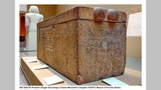 https://flic.kr/p/vV8ub4 | 2551-2528 201 Pharaohs of Egypt- Sarcophagus of Queen Meresankh II, Daughter of KHUFU. Museum of Fine Arts, Boston. | Meresankh II was a Queen of Egypt who lived during 4th dynasty. Meresankh II's parents are assumed to be King Khufu and Queen Meritites I given that they are mentioned in Meresankh's mastaba. She is never explicitly called their daughter however. Assuming Meresankh's filiation as stated, this would make Meresankh II a full sister of Prince Kawab and…