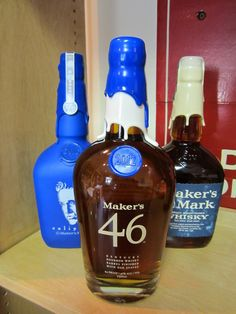 I wasn't wowed by 46, but I want these bottles.