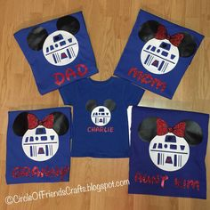 Photo on Circle of Friends Crafts: Mickey Mouse shirts