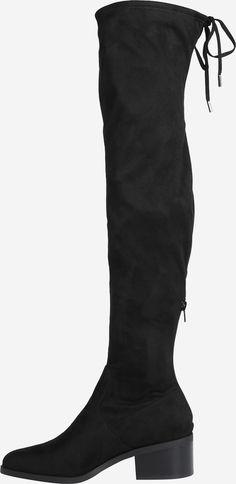 Commander Cuissardes 'Gerardine' STEVE MADDEN en Noir chez ABOUT YOU. ✓Livraison gratuite ✓Plus de 1 000 marques ✓Retour sous 100 jours ✓Livraison rapide ✓Retour gratuit ✓Large assortiment ✓Grandes marques Steve Madden, Heels, Boots, Fashion, Knee High Boots, Black People, Heel, Crotch Boots, Moda
