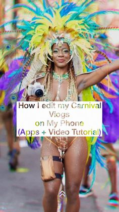Starting out as a carnival blogger or vlogger? Here are a few mobile apps to help you edit your vlogs on the go.