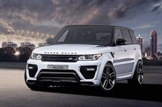 Range Rover Sport by Caractere Exclusive, with body kit package.