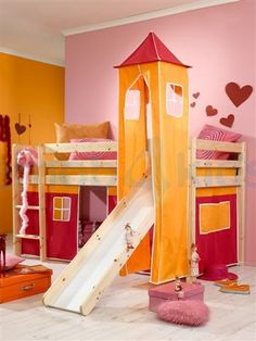 Interessante interieurs on pinterest rock n roll cute girls and vans - Modern kinderbed ...