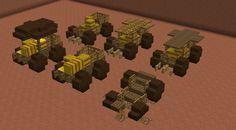 Farm cart designs : Minecraft - Everything About Minecraft Minecraft Medieval House, Minecraft Farm, Minecraft Images, Minecraft Plans, Minecraft Construction, Minecraft Tutorial, Minecraft Designs, Minecraft Crafts, Minecraft Market