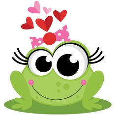 Frog in Love SVG scrapbook cut file cute clipart files for silhouette cricut pazzles free svgs free svg cuts cute cut files Frosch Illustration, Cute Illustration, Funny Frogs, Cute Frogs, Frog Pictures, Frog Art, Cute Clipart, Frog And Toad, Rock Crafts