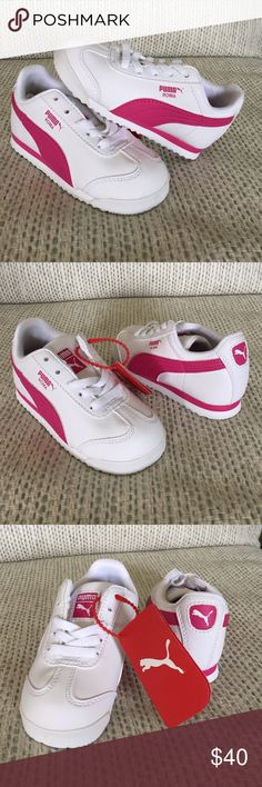 Puma Roma sneakers- kids New in full box, kids US 8. Puma Shoes Sneakers