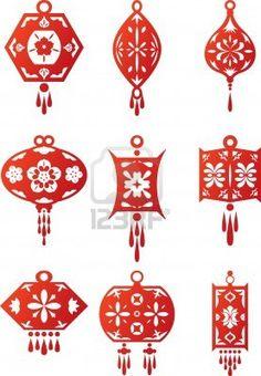 chinese lanterns design