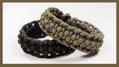 """Paracord Bracelet Tutorial: """"Spined Fishtail"""" Bracelet Design Without Buckle Paracord Braids, Paracord Knots, Paracord Bracelets, Knot Bracelets, Survival Bracelets, Paracord Tutorial, Bracelet Tutorial, Bracelet Designs, Bracelet Patterns"""
