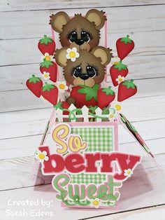 Drink Stand, Berries, Ann, Teddy Bear, Christmas Ornaments, Toys, Holiday Decor, Create, Gallery