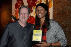 """Oscar Nominee Rick Goldsmith and WNBA superstar Chamique Holdsclaw, the subject of """"Mind Game,"""" which won the Best Documentary award at Annual Gold Coast Intl Film Festival. Best Documentaries, Wnba, Mind Games, Gold Coast, New Woman, Documentary, Film Festival, Superstar, Mustang"""