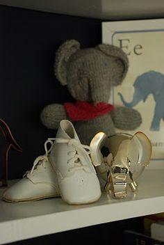 elephants & baby shoes