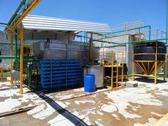 Equipo DAF de 15 litros por segundo, para el tratamiento de aguas residuales de Rastro de bovinos y porcinos.