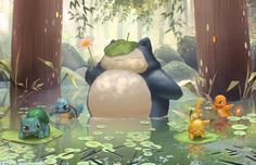ArtStation - My Neighbour Snorlax, Janice Sung