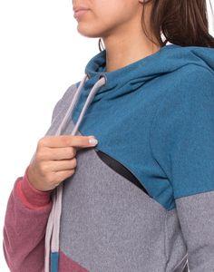 Stillmode - DORIAN Umstands-& Stillpullover Colour-Bloc... - ein Designerstück von Milchshake-by-AgnesH- bei DaWanda