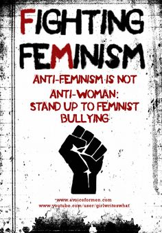 Because feminists are some of the worst bullies out there...