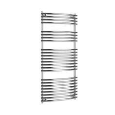 Heated towel rails are not only practical but add that extra touch of luxury to your bathroom. Buy designer bathroom towel rails from HOTHOT. Bathroom Towel Rails, Towel Radiator, Heated Towel Rail, Round Design, Radiators, Chrome Finish, It Is Finished, Bathroom Towel Racks, Heating Radiators