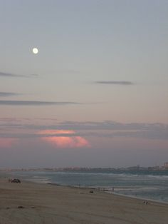 Sunset on Sandy Beach, Rocky Point, Mexico