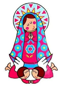 Resultado de imagem para mother mary art lesson for kids Art Lessons For Kids, Art For Kids, Holy Mary, Blessed Virgin Mary, Catholic Saints, Mexican Folk Art, Blessed Mother, Mother Mary, Sacred Art