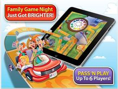 LIFE'S A PARTY ON iPAD™! Get family and friends together for PARTY PLAY – ONLY WITH iPAD – and make it a game night! Enjoy the all-time favorite board game in a whole new way with enhanced HD-quality graphics, plus new interactive and custom features. Live THE GAME OF LIFE to the fullest on iPad!