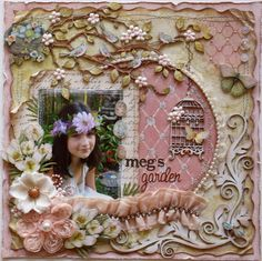 Such a Pretty Mess shabby chic scrapbooking blog.