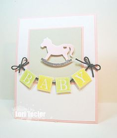 Baby card-designed by Lori Tecler/Inking Aloud-stamps and dies from SugarPea Designs