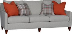 Mayo's 1221F Sofa in Southpaw Granite