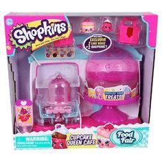 1c5faef83 Shopkins Food Fair Playset - Cupcake Queen Café : Target Princesa, Regalos,  Juguetes Para