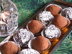Easy Chocolate Truffles. Actually these would be great for Easter too!