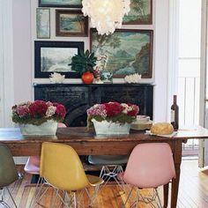 MCM rustic interior design - Google Search
