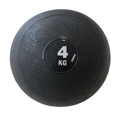 Slam ball weighs 4kg   Kilograms printed on the side of the ball - easy to identify when working out   Air valve on ball to increase density - there is no bounce to the slam ball as it is classified as a dead ball   Very durable latex high density cover   Ideal for variety of cardio, cross fit and strength building exercises
