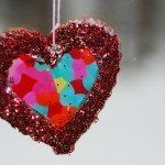 Heart Salt Dough Suncatchers- Fun project for the kids on Valentines Day. Valentine Crafts For Kids, Winter Crafts For Kids, Homemade Valentines, Valentines Day Party, Winter Fun, Spring Crafts, Be My Valentine, Holiday Crafts, Christmas Gifts