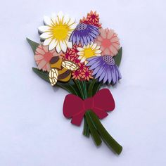 WILDFLOWER BOUQUET BROOCH Brooch Bouquets, Brooches, Lemon Blossoms, Us Shop, Wild Flowers, Handmade, Shopping, Beauty, Instagram