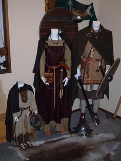 Clothes of the Scandinavian Viking age