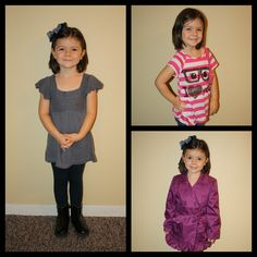 Little girl fashion. School Shopping mix old favorites with new items to stretch your #B2S budget #Girl #fashion http://littlegirlblogs.wordpress.com/