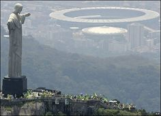 Epic Maracana Stadium, aka Where the World Cup will be in 2014 and the Olympics will be in 2016. RIO DE JANEIRO