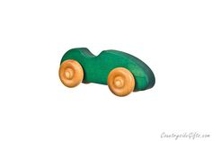Our Natural Organic Wooden Toy Sports Car is designed and made in the USA by Countryside Gifts LLC and is lovingly handcrafted one at a time using the finest grade hardwoods. Our Hardwood Wooden To…