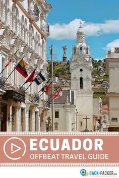 An offbeat guide to exploring Ecuador. The top 10 underrated things to do and see in the country's Andrean region. Best places to visit including Quito, Cuenca, Otavalo and more. Travel in South America. | Back-packer.org #Ecuador #SouthAmerica
