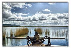 """Laguna de Pitillas, desde """"La Tajadera"""", by esalinax, via Flickr"""