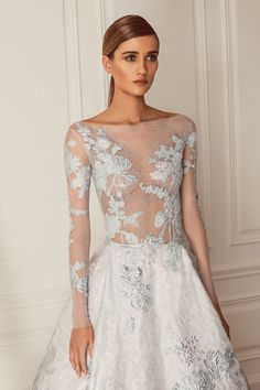 Hamda Al Fahim Fall/Winter 2015-6 Collection #couture #wedding | WedLuxe Magazine #luxurywedding