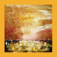 PEISAJ Mod de realizare : acrylic pe panza Dimensiune : 60x60 cm Lucrare disponibila Wall Paintings, Acrylic Paintings, Art, Wall Murals, Murals, Kunst, Art Education, Artworks