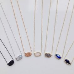 These Elisa necklaces by @kendrascott make great Christmas gifts! (at By Request)