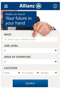 #Allianz #Mobile #Recruiting: Simple Search