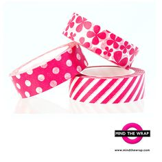 Hey, I found this really awesome Etsy listing at https://www.etsy.com/listing/201323977/magenta-pink-washi-tape-set-3-rolls-of