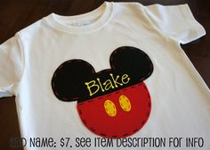 Mickey Mouse Disney Vacation Shirt