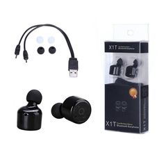 >> Click to Buy << X1T Mini Twin Stero Bluetooth Earphone BT 4.0 Wireless Headphones Headset Handsfree Earpiece with Mic for iPhone Android Phones #Affiliate