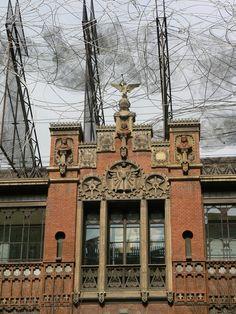 Fotos del Edificio sede de la Fundación Tàpies en Barcelona - España